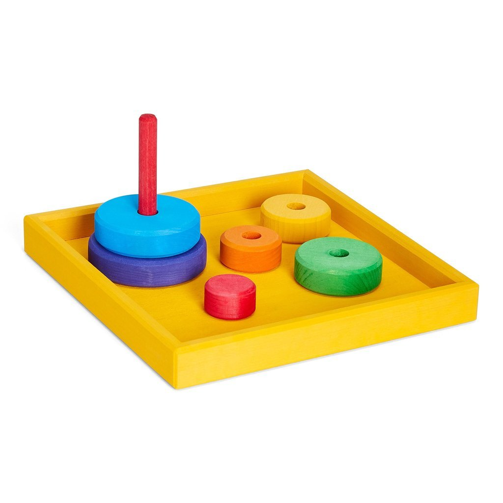 Grimm's Individual Rainbow Play Trays - Grimm's Spiel and Holz Design - The Creative Toy Shop