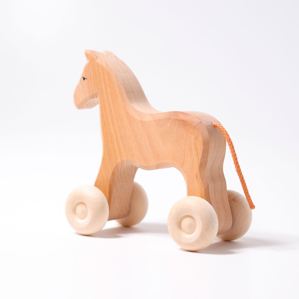 Grimm's Large Horse on Wheels - Grimm's Spiel and Holz Design - The Creative Toy Shop
