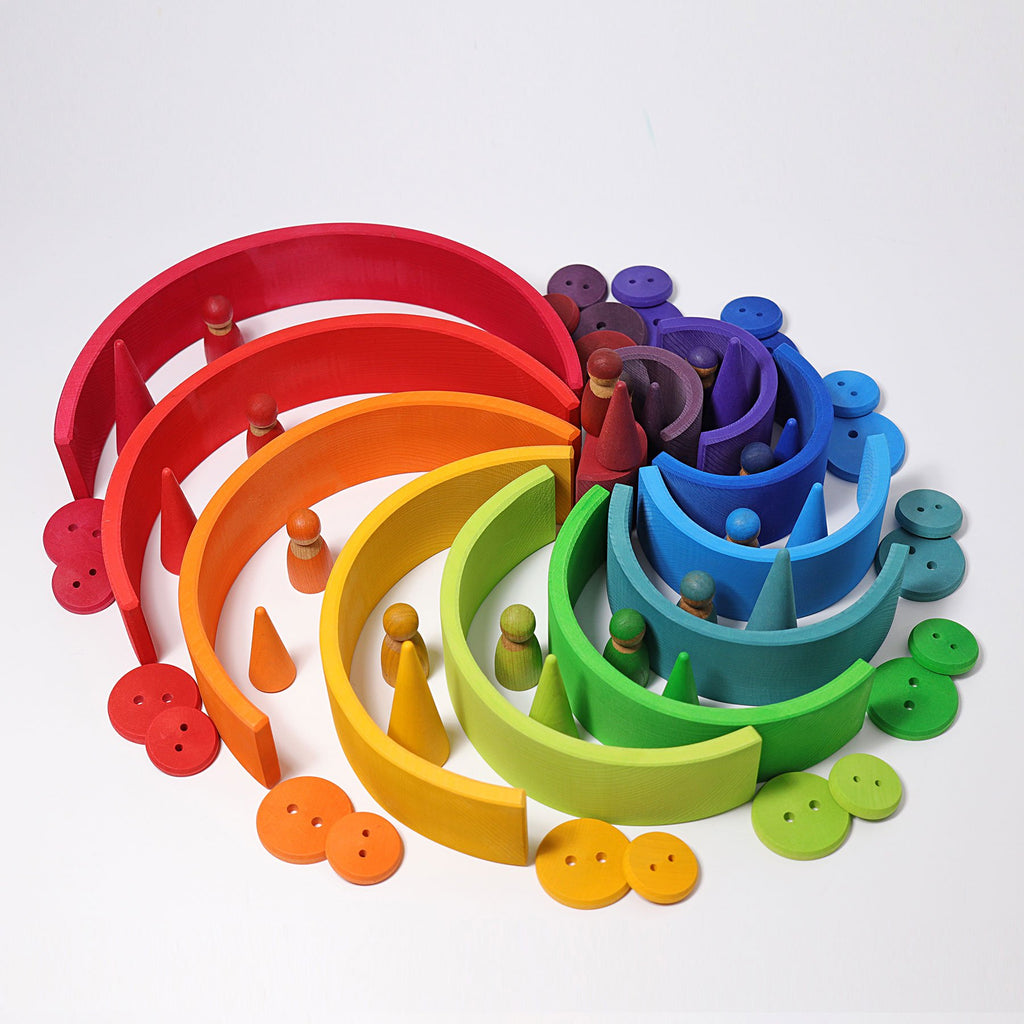 Grimm's Large Rainbow - Grimm's Spiel and Holz Design - The Creative Toy Shop