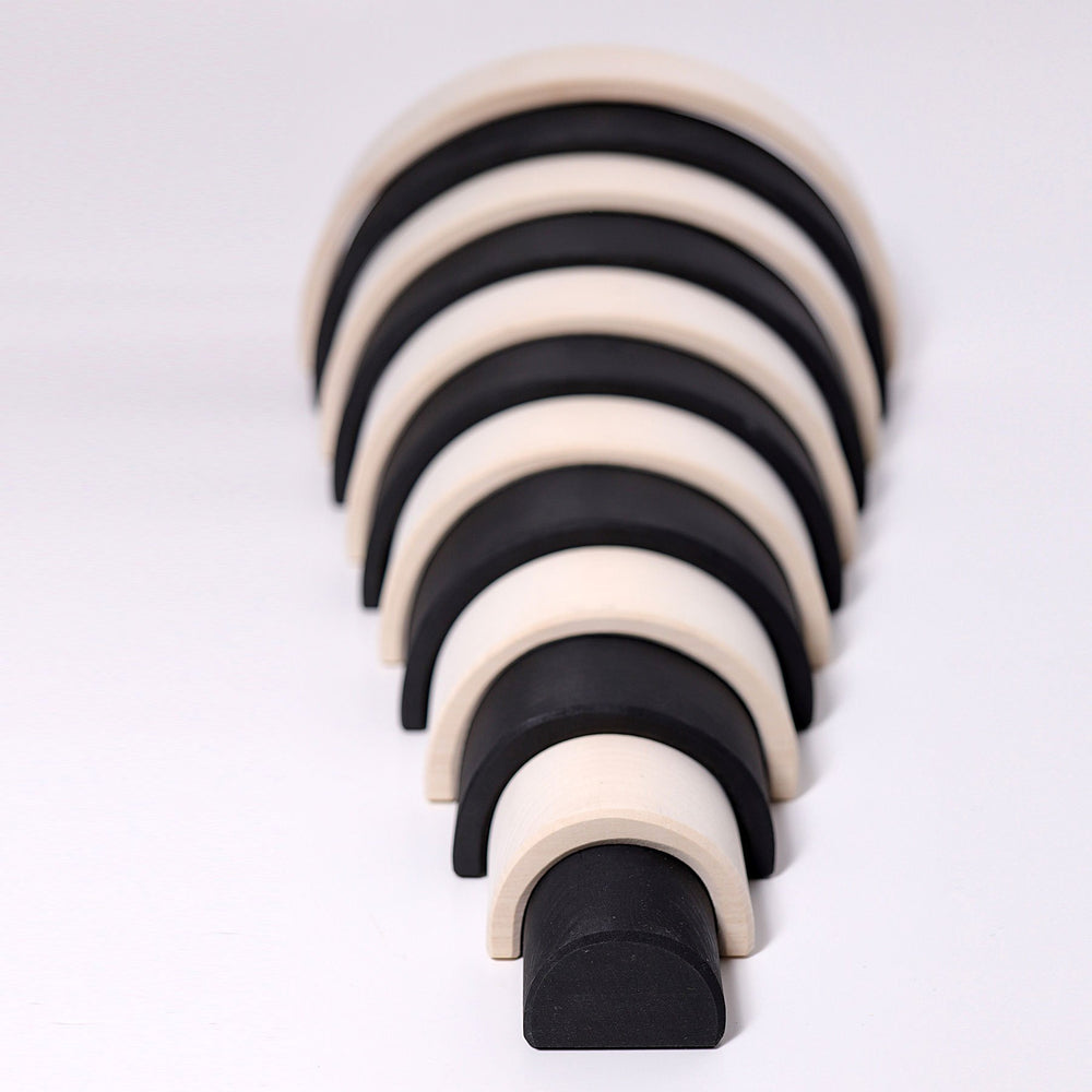 Grimm's Large Rainbow - Monochrome - Grimm's Spiel and Holz Design - The Creative Toy Shop