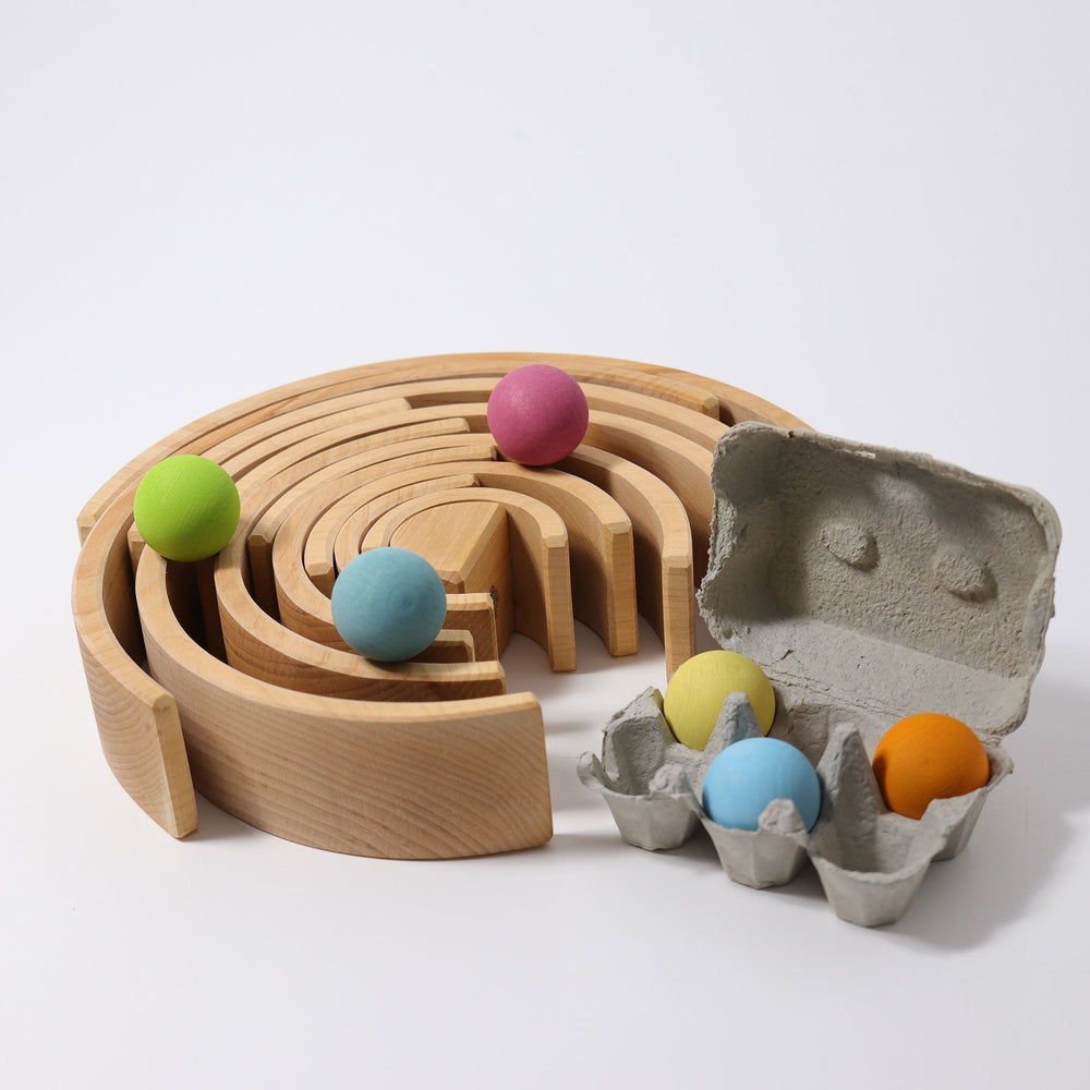 Grimm's Large Rainbow - Natural - Grimm's Spiel and Holz Design - The Creative Toy Shop