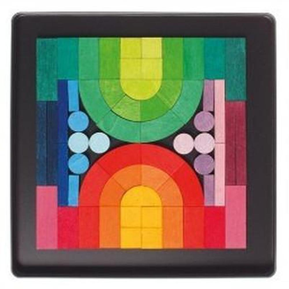 Grimm's Magnetic Romanesque Puzzle-Wooden puzzles-The Creative Toy Shop