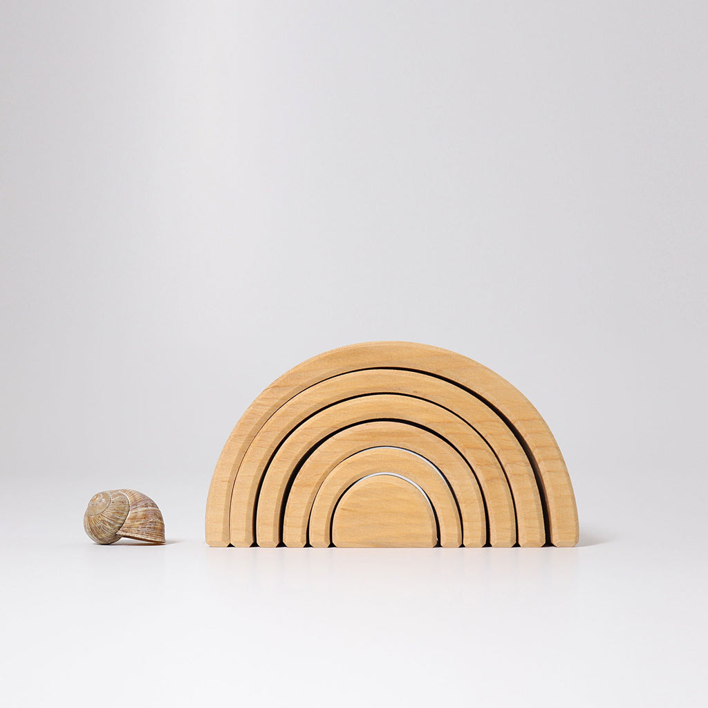 Grimm's Medium Rainbow - Natural - Grimm's Spiel and Holz Design - The Creative Toy Shop
