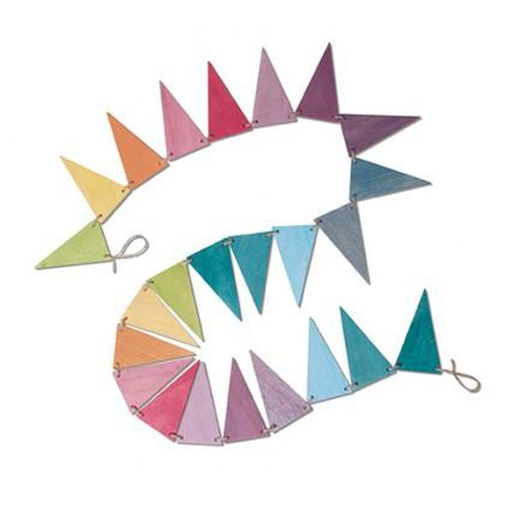 Grimm's Pastel Pennant Banner-Decor-The Creative Toy Shop