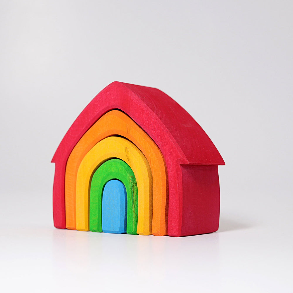 Grimm's Stacking House - Rainbow
