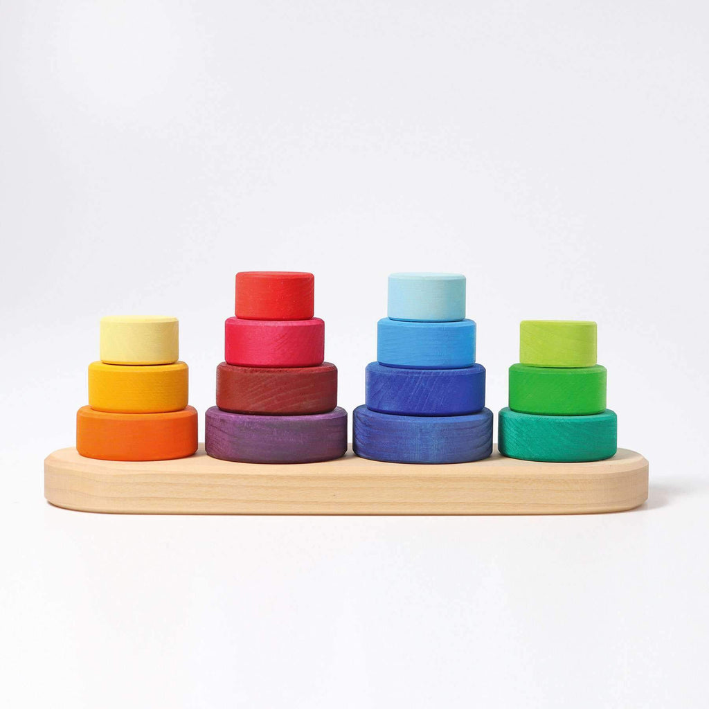 Grimm's Stacking Tower Fabuto-The Creative Toy Shop