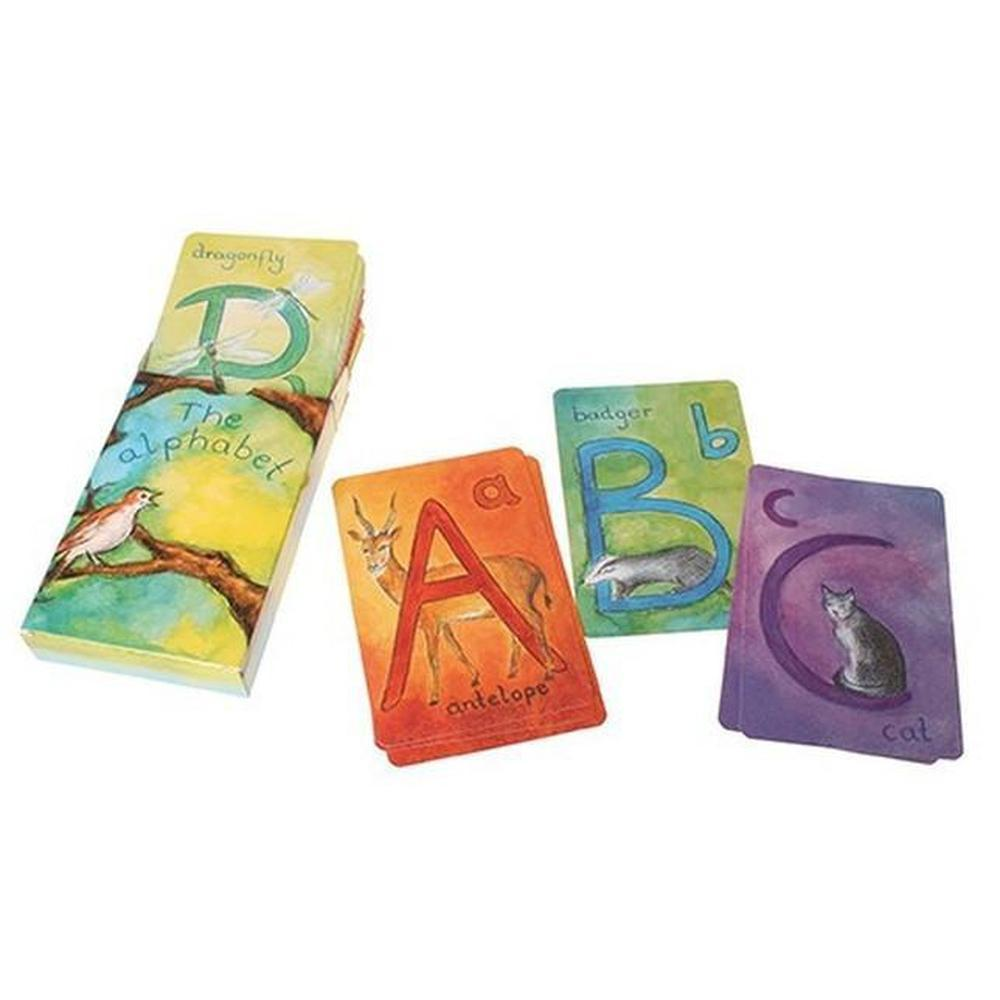 Grimm's Waldorf Alphabet Flashcards - Grimm's Spiel and Holz Design - The Creative Toy Shop