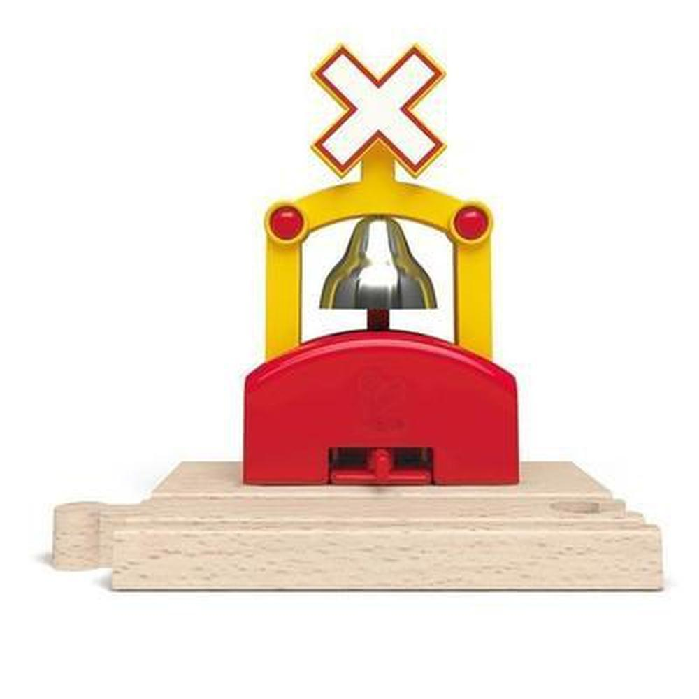 Hape Automatic Train Bell Signal - Hape - The Creative Toy Shop