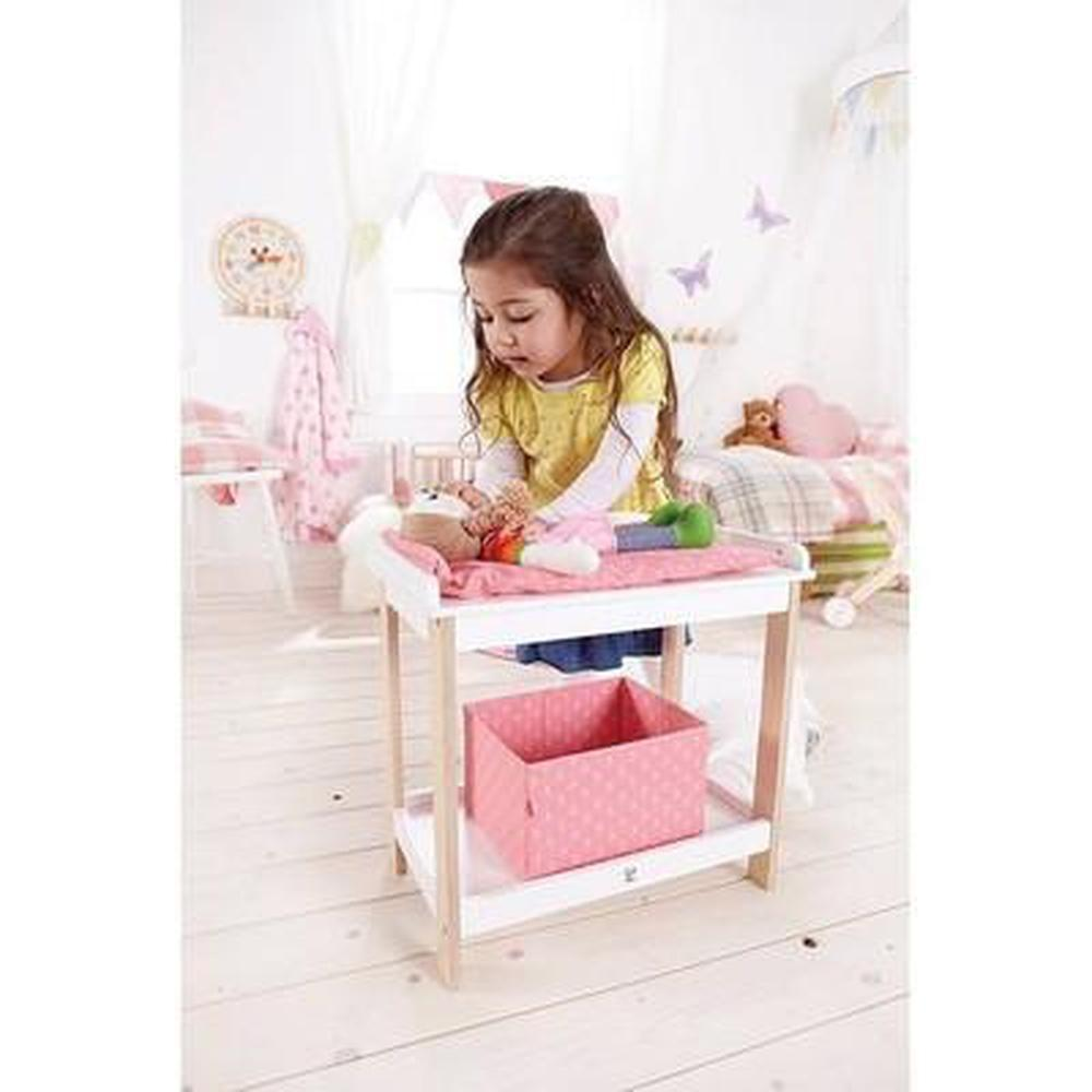 Hape Baby Changing Table-Prams-The Creative Toy Shop