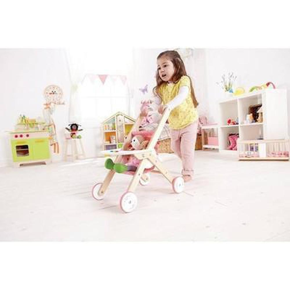 Hape Baby Stroller-Prams-The Creative Toy Shop