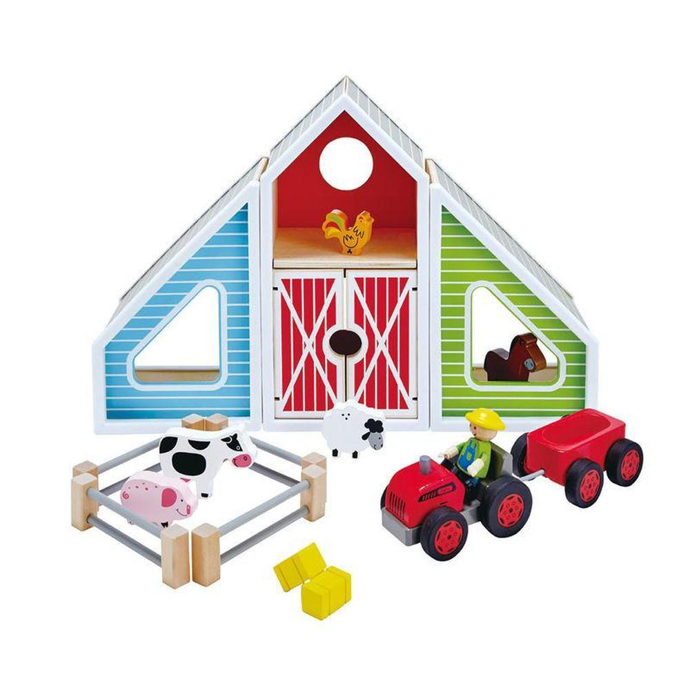 Hape Barn Play-The Creative Toy Shop