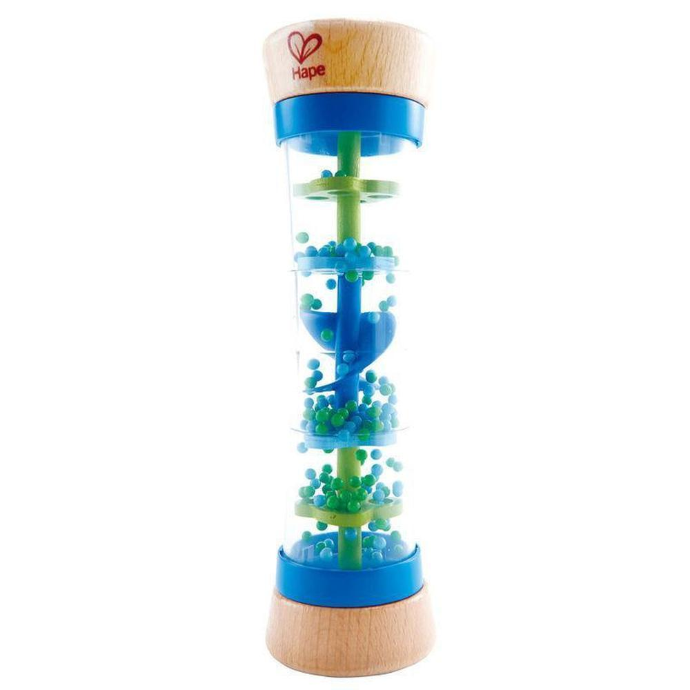 Hape Beaded Raindrops - Blue-Musical-The Creative Toy Shop