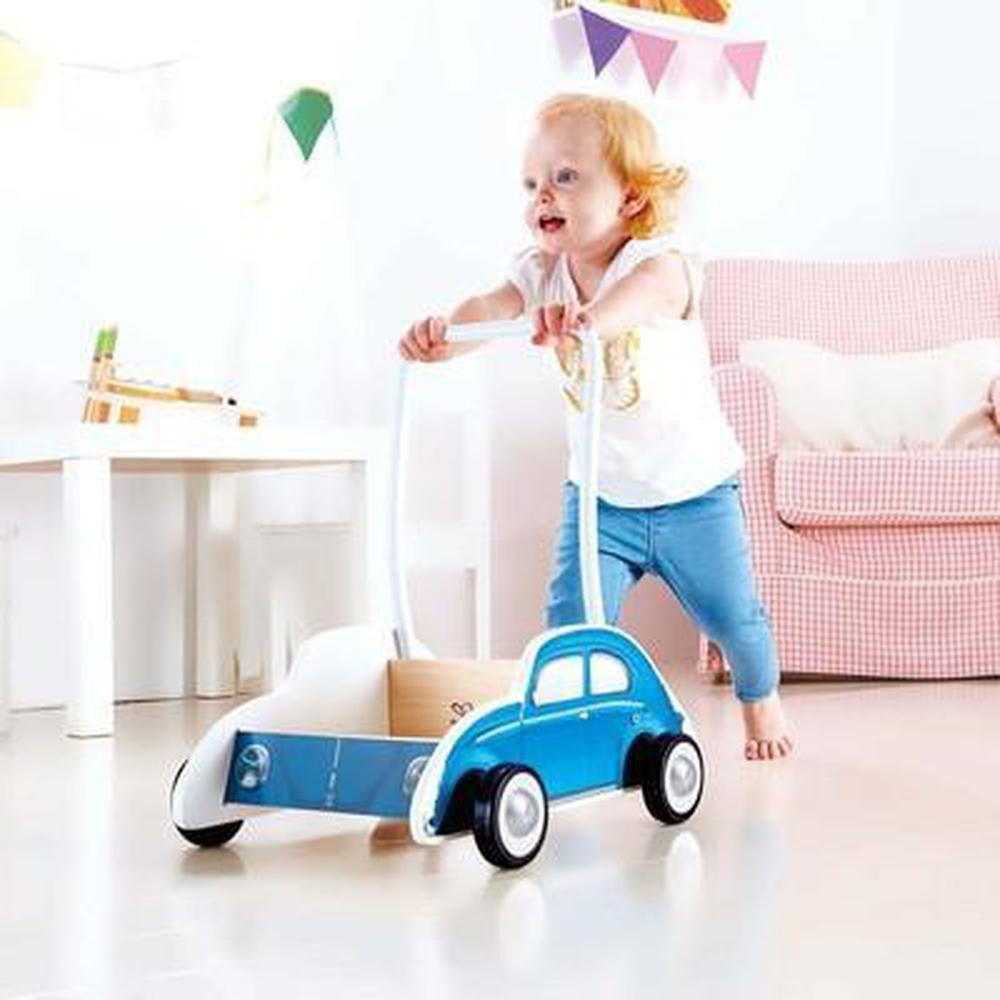 Hape Beetle Walker - Blue - Hape - The Creative Toy Shop