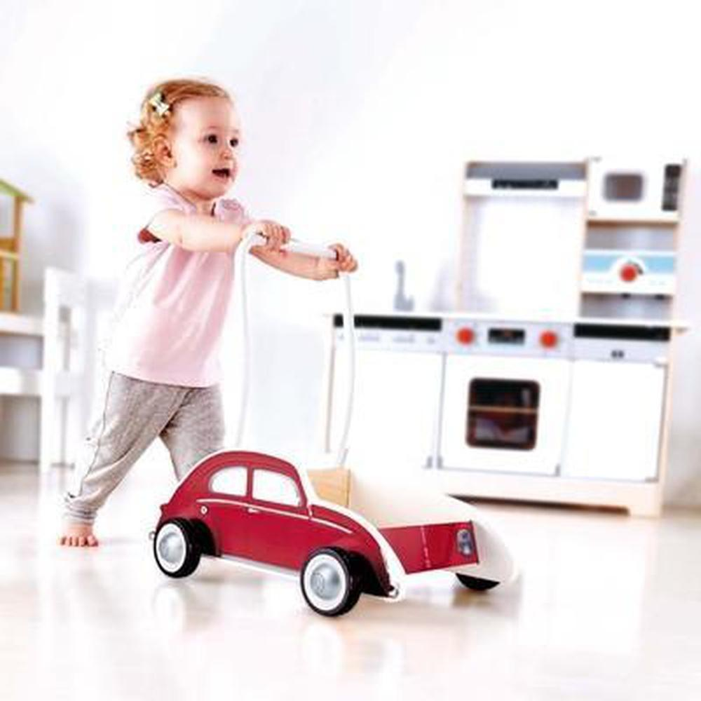 Hape Beetle Walker - Red - Hape - The Creative Toy Shop
