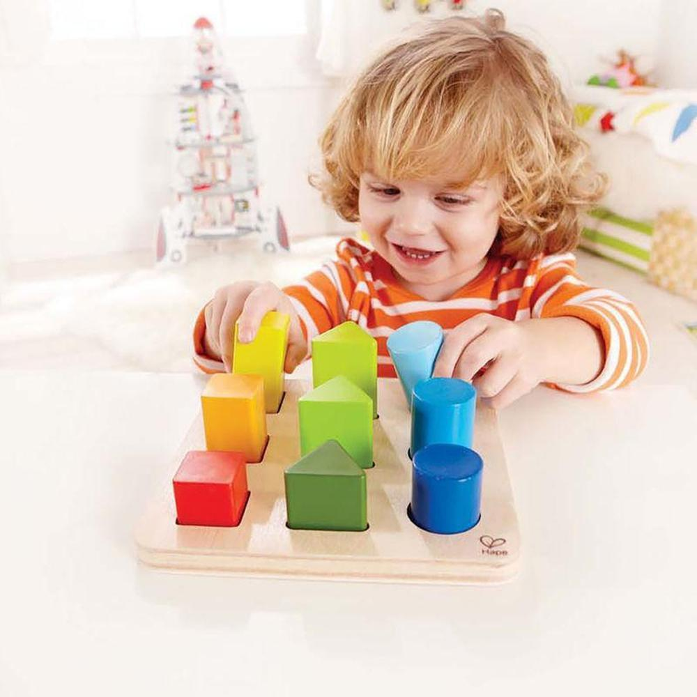 Hape Colour and Shape Sorter-Wooden puzzles-The Creative Toy Shop