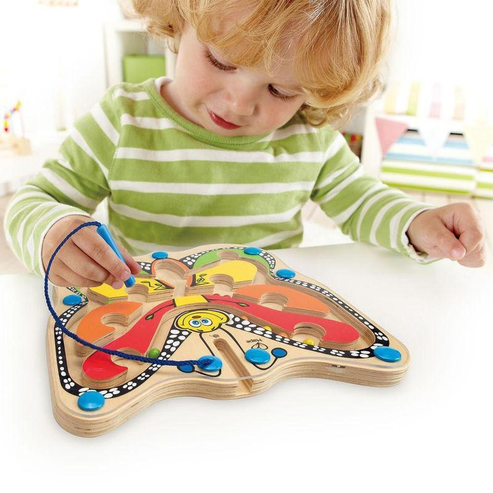 Hape Colour Flutter Butterfly Maze-Wooden puzzles-The Creative Toy Shop