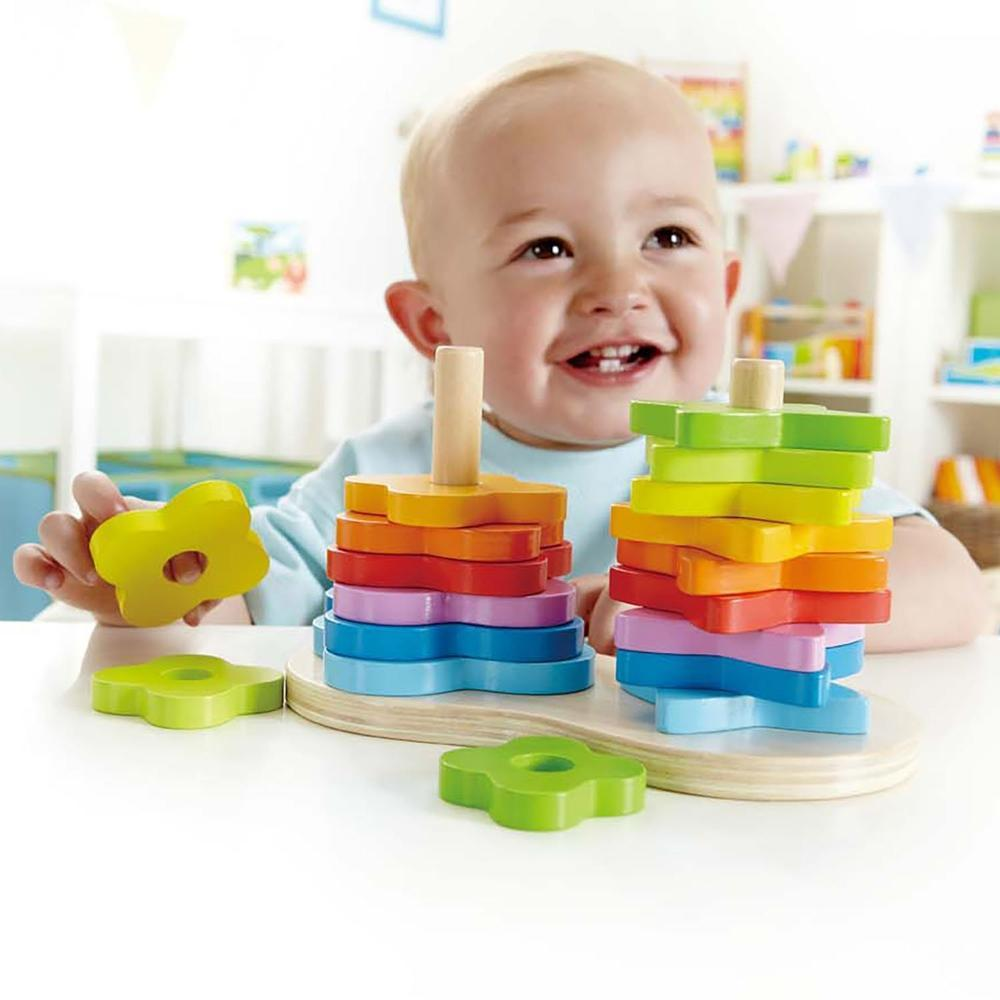 Hape Double Rainbow Stacker - Hape - The Creative Toy Shop