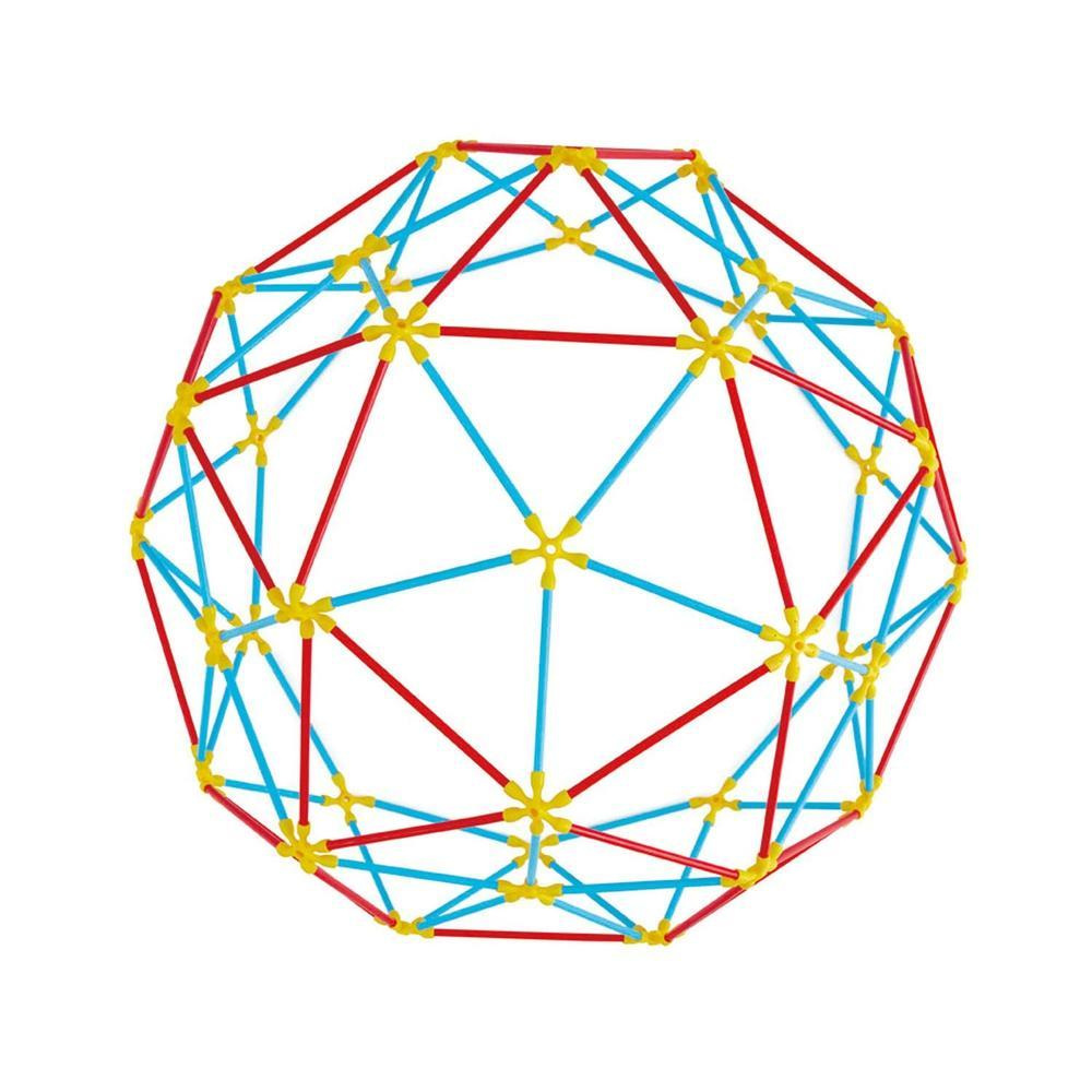 Hape Flexistix Geodesic Structures 177 Pieces The