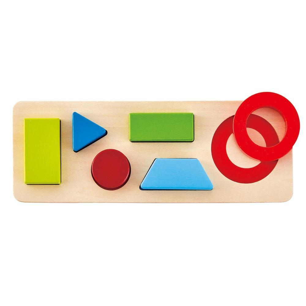 Hape Geometry Puzzle-wooden Puzzles-The Creative Toy Shop