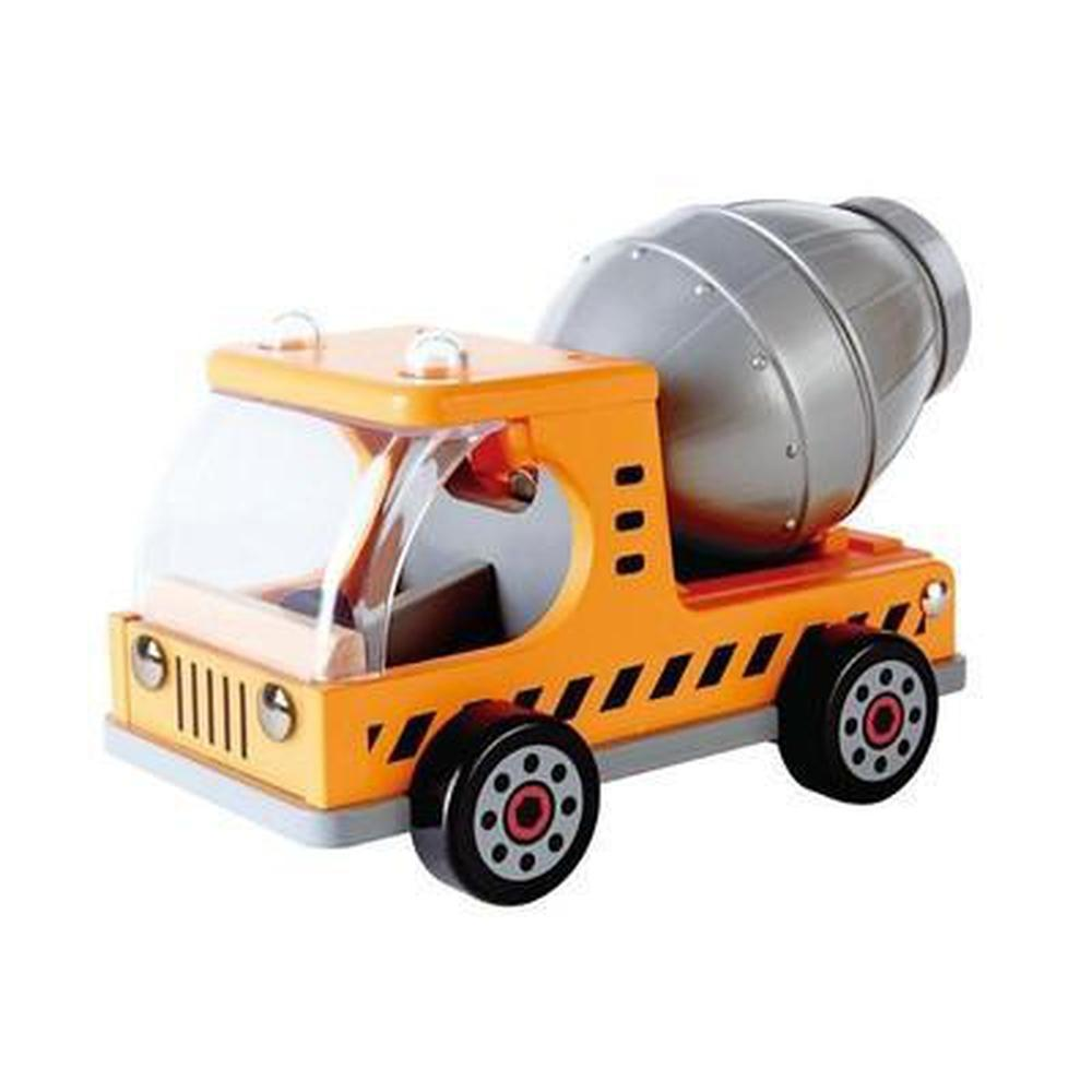 Hape Mix 'N Truck-The Creative Toy Shop