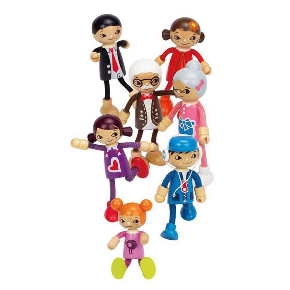 Hape Modern Family - Son-Dolls-The Creative Toy Shop