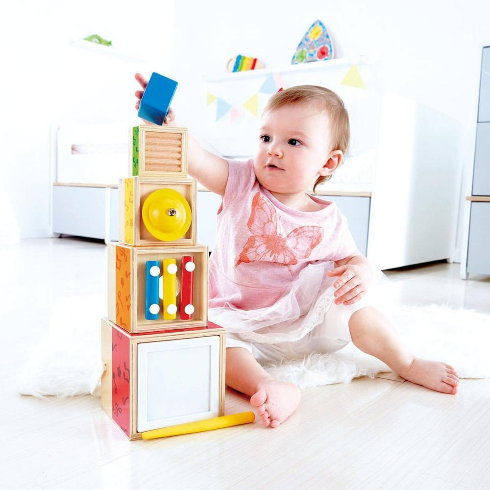 Hape Multi Stacking Music Set-Musical-The Creative Toy Shop