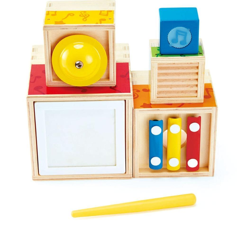 Hape Multi Stacking Music Set - Hape - The Creative Toy Shop