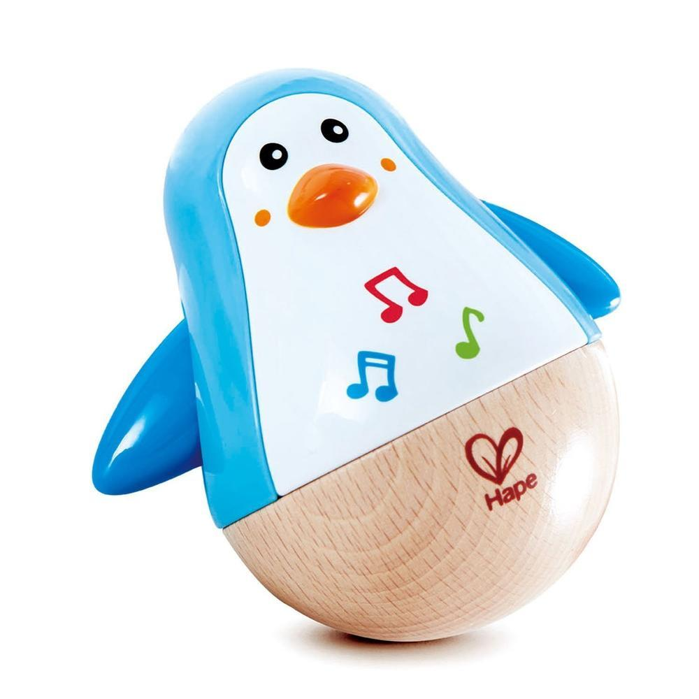 Hape Penguin Musical Wobbler-Musical-The Creative Toy Shop