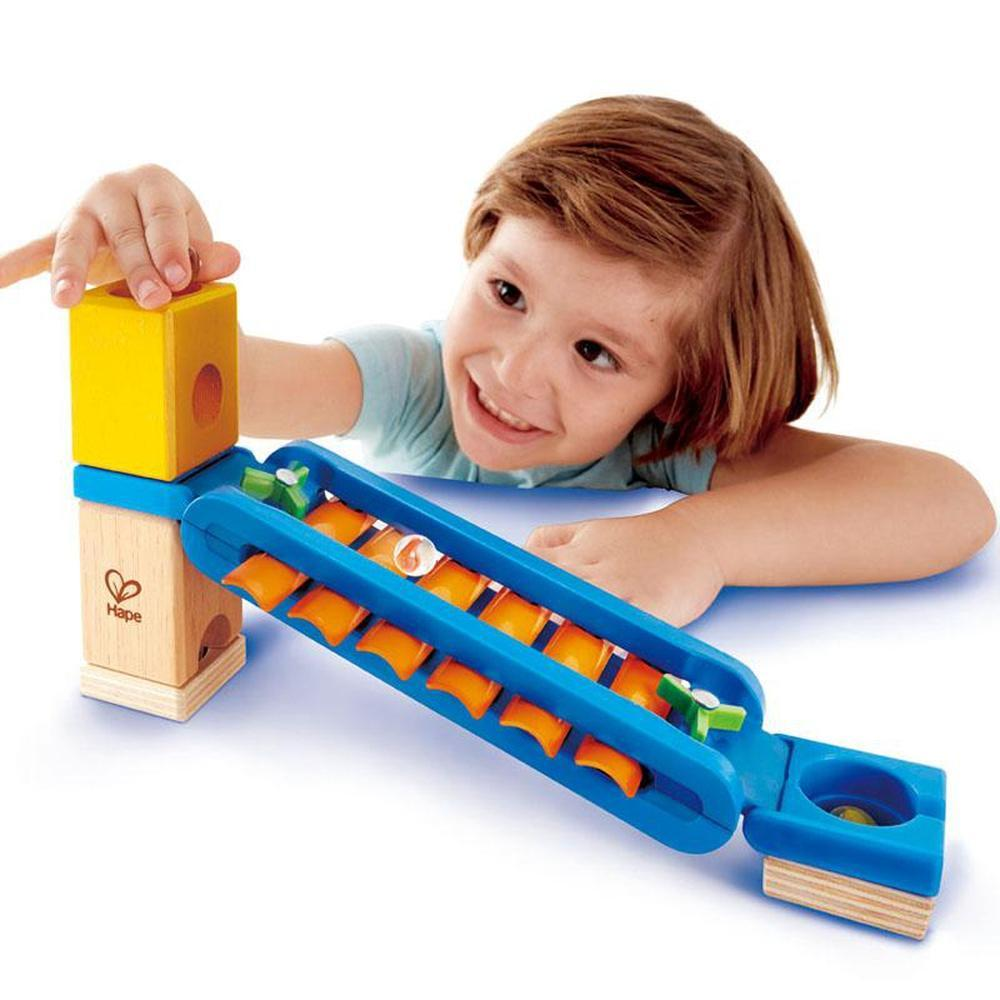 Hape Quadrilla Sonic Playground-Marble Run-The Creative Toy Shop