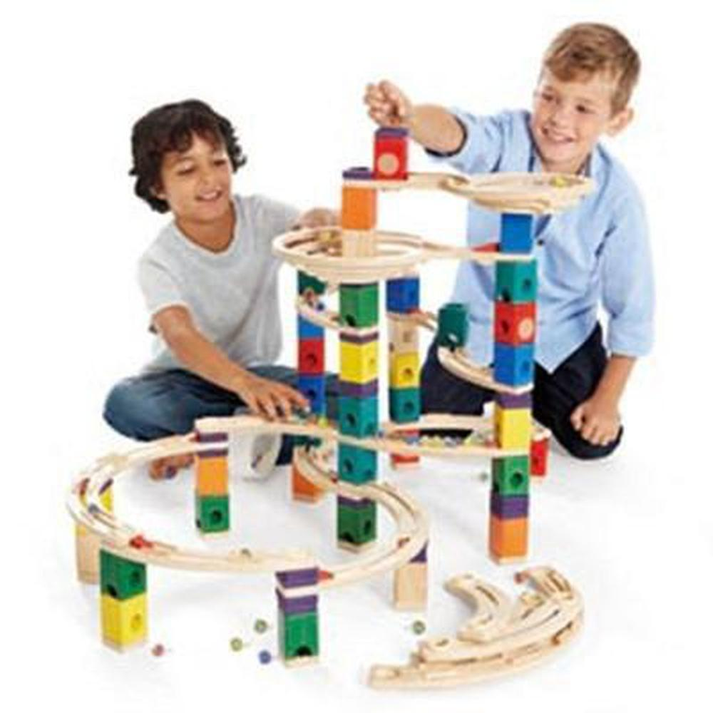 Hape Quadrilla The Cyclone Set-Marble Run-The Creative Toy Shop