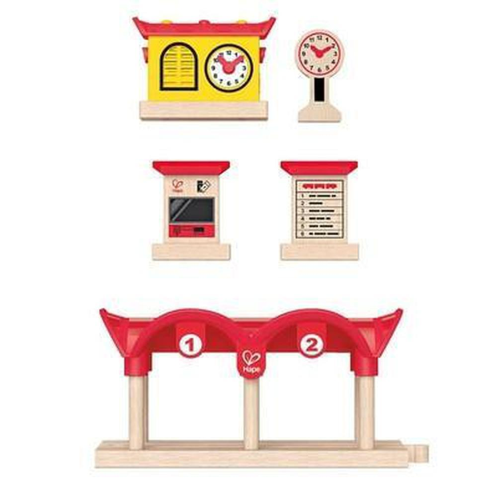 Hape Record Listen Light Railway Station - Hape - The Creative Toy Shop