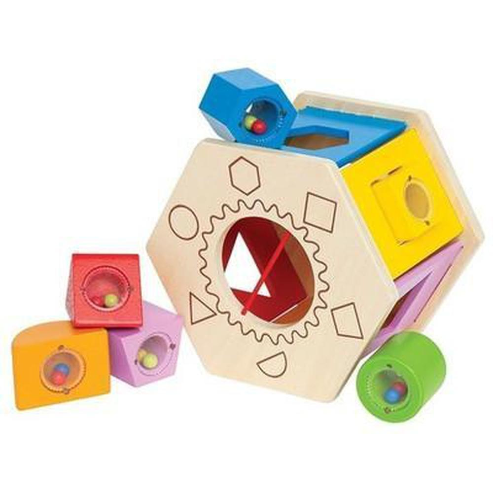 Hape Shake n Match Shape Sorter-Wooden games-The Creative Toy Shop