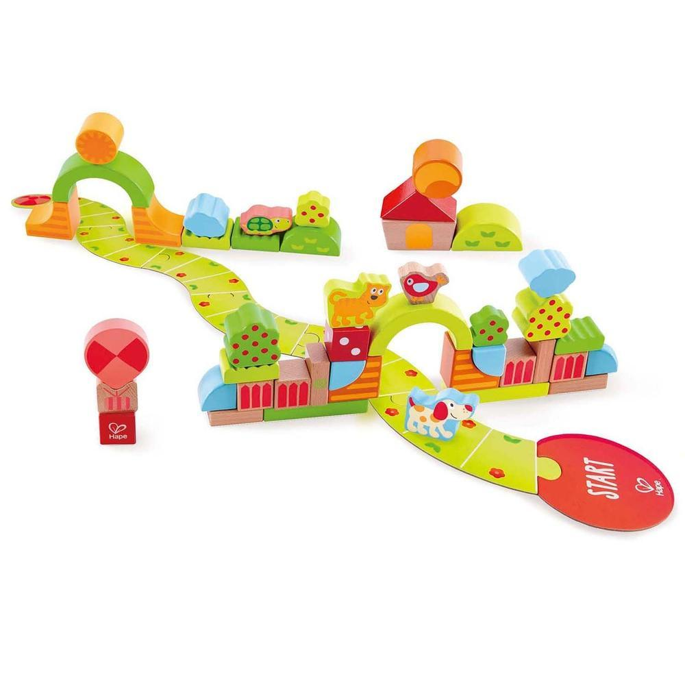 Hape Sunny Valley Play Blocks 52 Pieces - Hape - The Creative Toy Shop