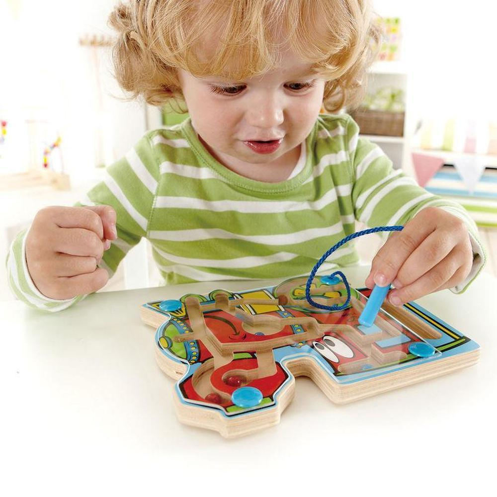 Hape Train Magnetic Maze-Wooden puzzle-The Creative Toy Shop