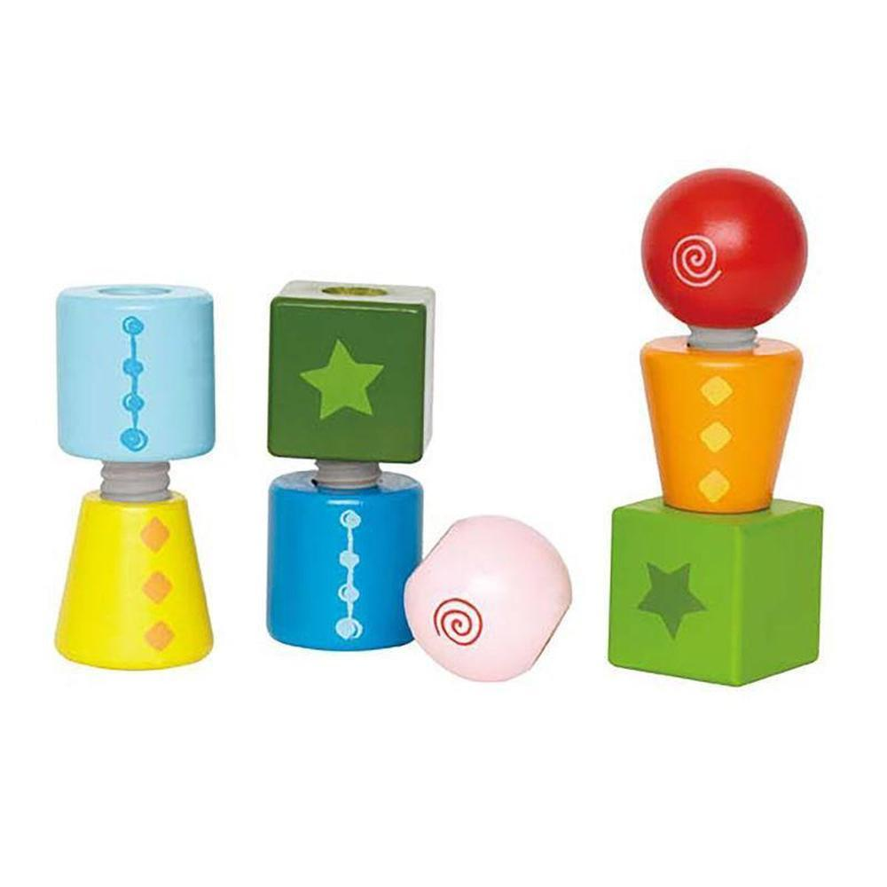 Hape Twist And Turnables 8 Pieces - Hape - The Creative Toy Shop
