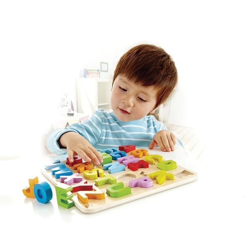 Hape Uppercase Alphabet Puzzle - Hape - The Creative Toy Shop