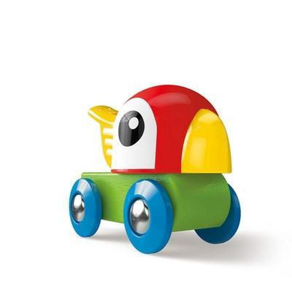 Hape Whistling Parrot Engine-Trains-The Creative Toy Shop