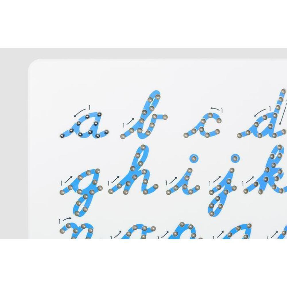 Kid O Magnatab Lowercase Cursive-The Creative Toy Shop