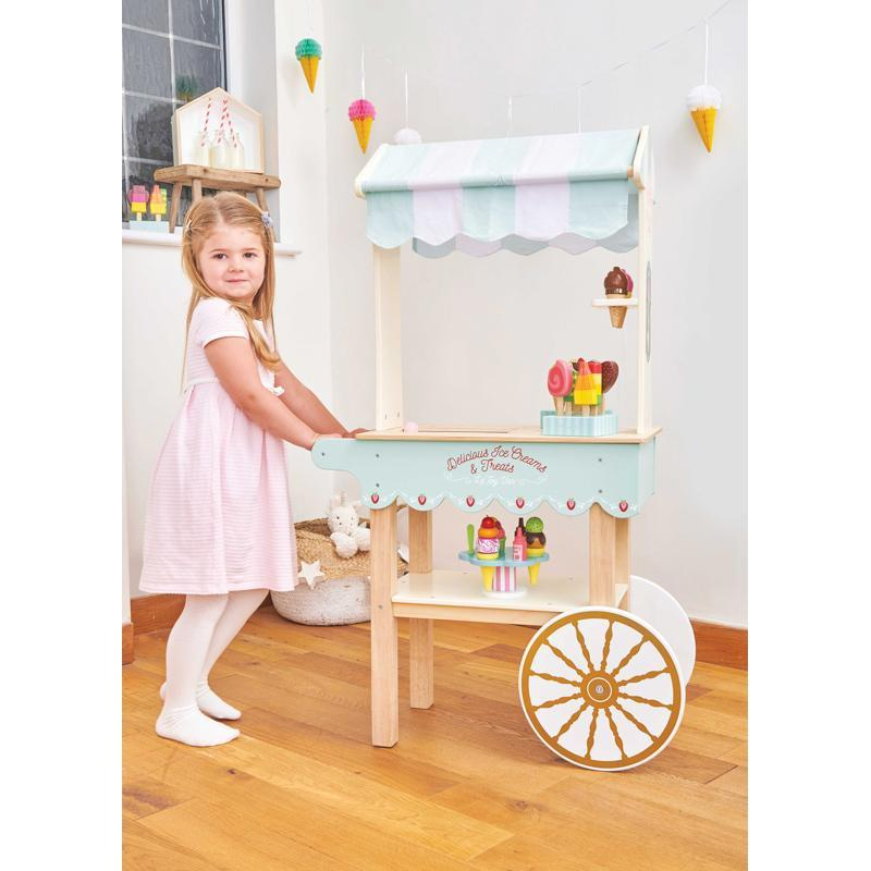 Le Toy Van Honeybake Ice Cream and Treats Trolley - Le Toy Van - The Creative Toy Shop