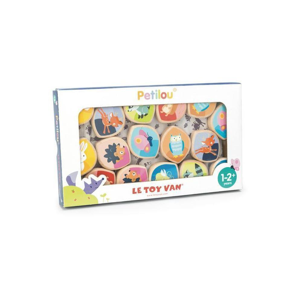 Le Toy Van Petilou Memory Game Animal Pairs-Wooden games-The Creative Toy Shop