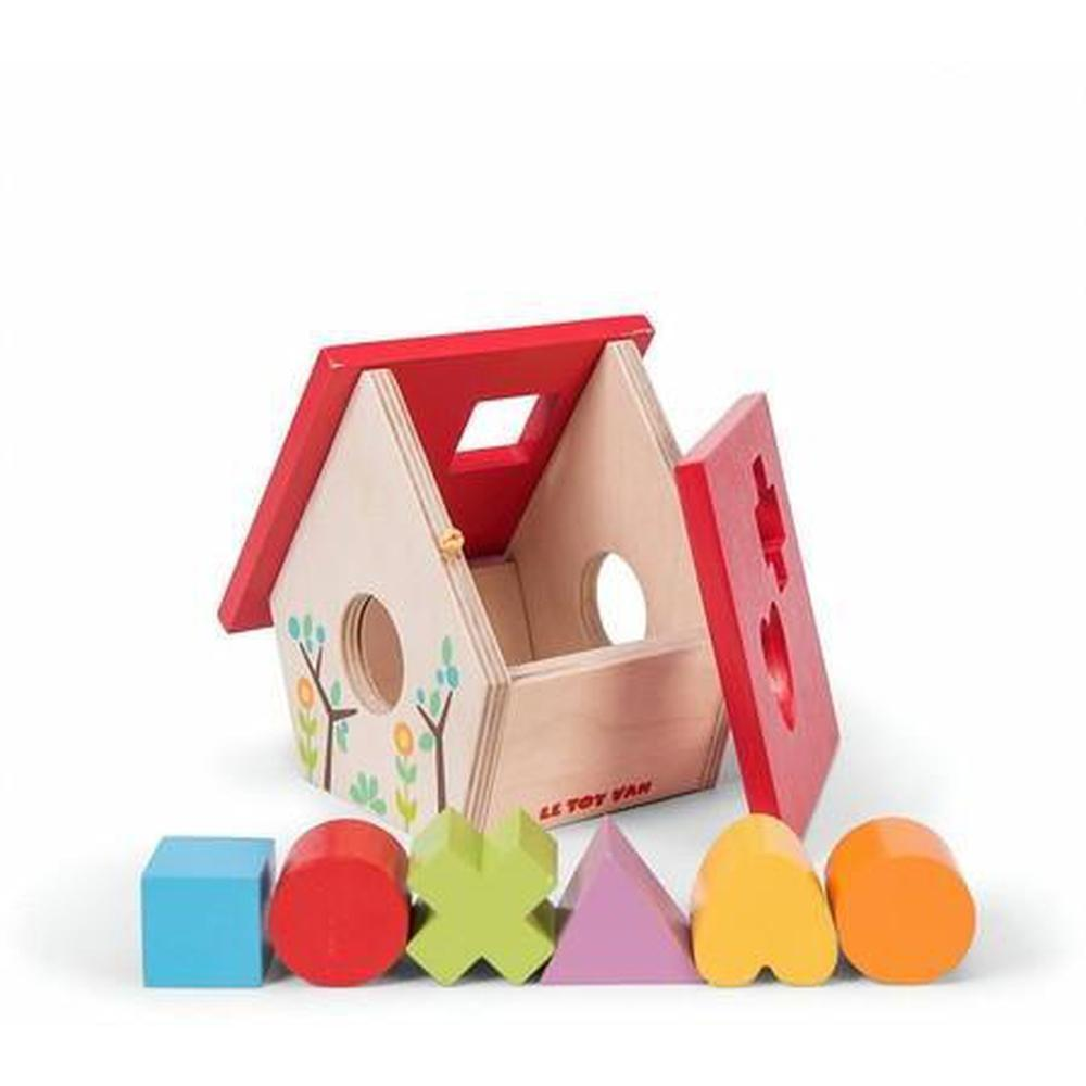 Le Toy Van Petilou My Little House Shape Sorter-Wooden puzzle-The Creative Toy Shop