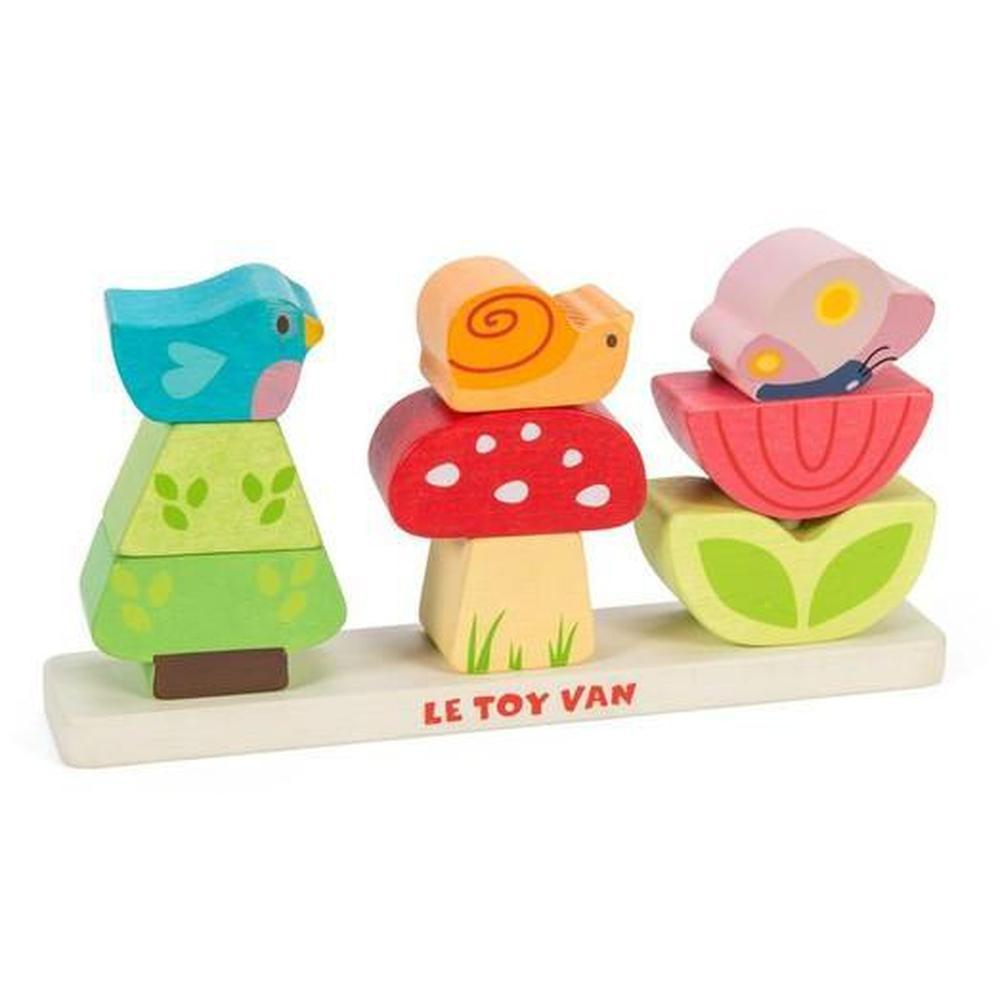 Le Toy Van Petilou My Stacking Garden-Stacking towers-The Creative Toy Shop