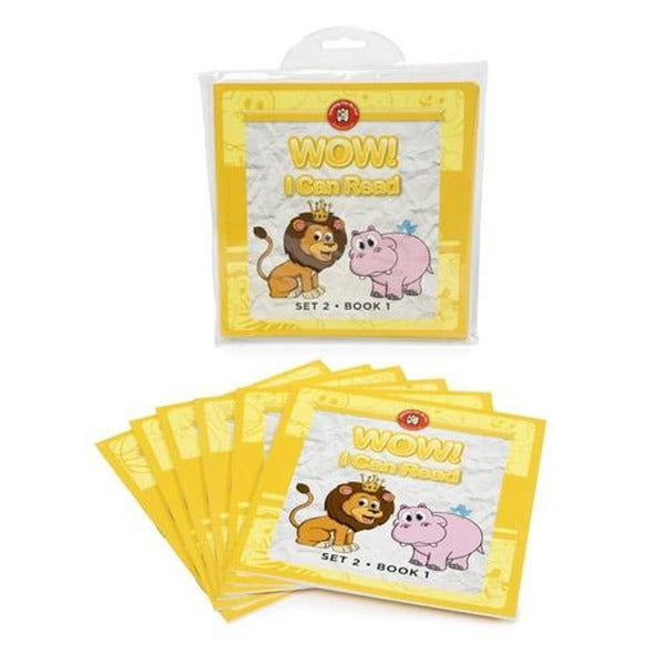 Learning Can be Fun Wow! I Can Read Set 2 - Learning Can Be Fun - The Creative Toy Shop