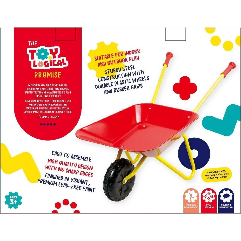 Load and Go Wheel Barrow - Toy Logical - The Creative Toy Shop
