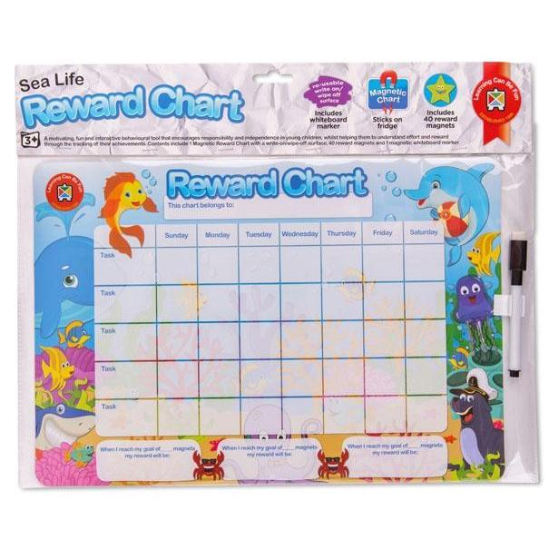 Magnetic Rewards Charts - Learning Can Be Fun - The Creative Toy Shop