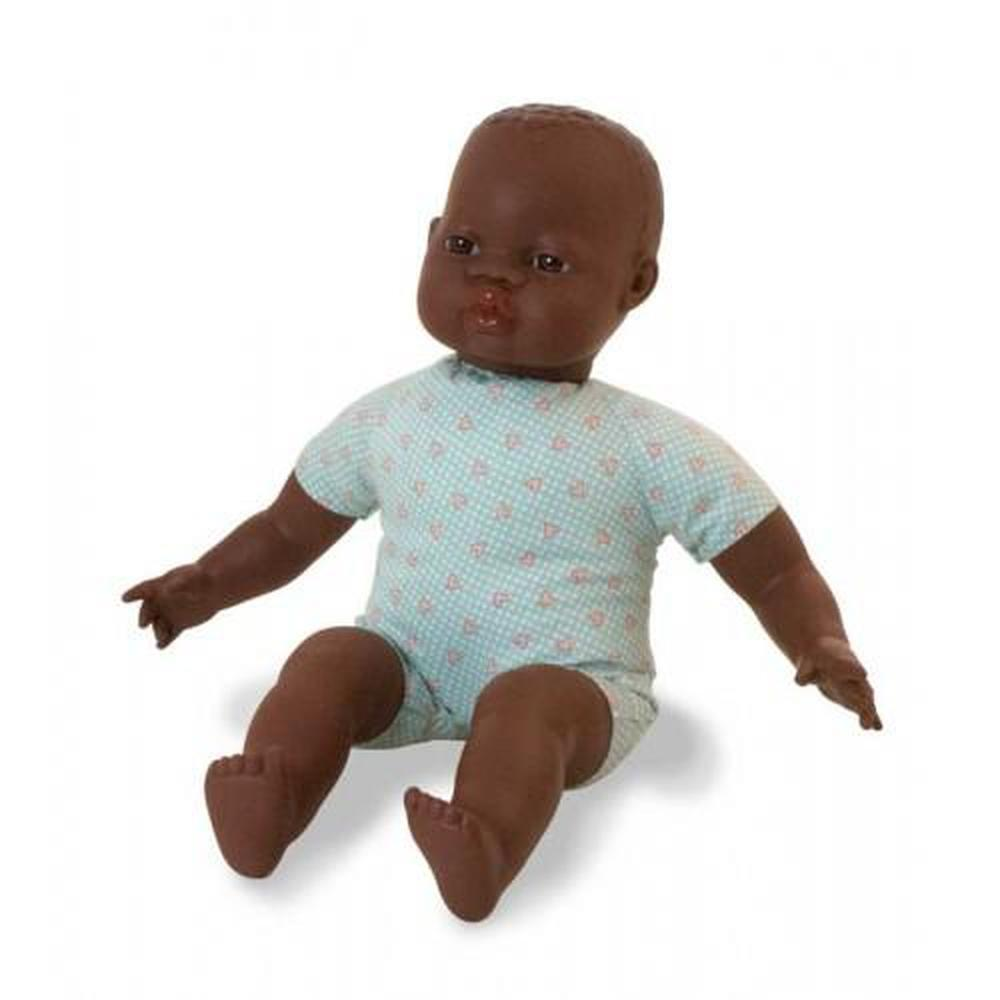 Miniland Doll - Soft Bodied African Baby 40 cm - Miniland - The Creative Toy Shop