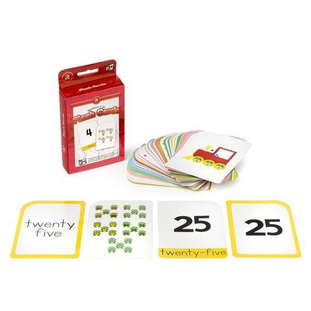 Numbers 0-30 Flashcards - Learning Can Be Fun - The Creative Toy Shop