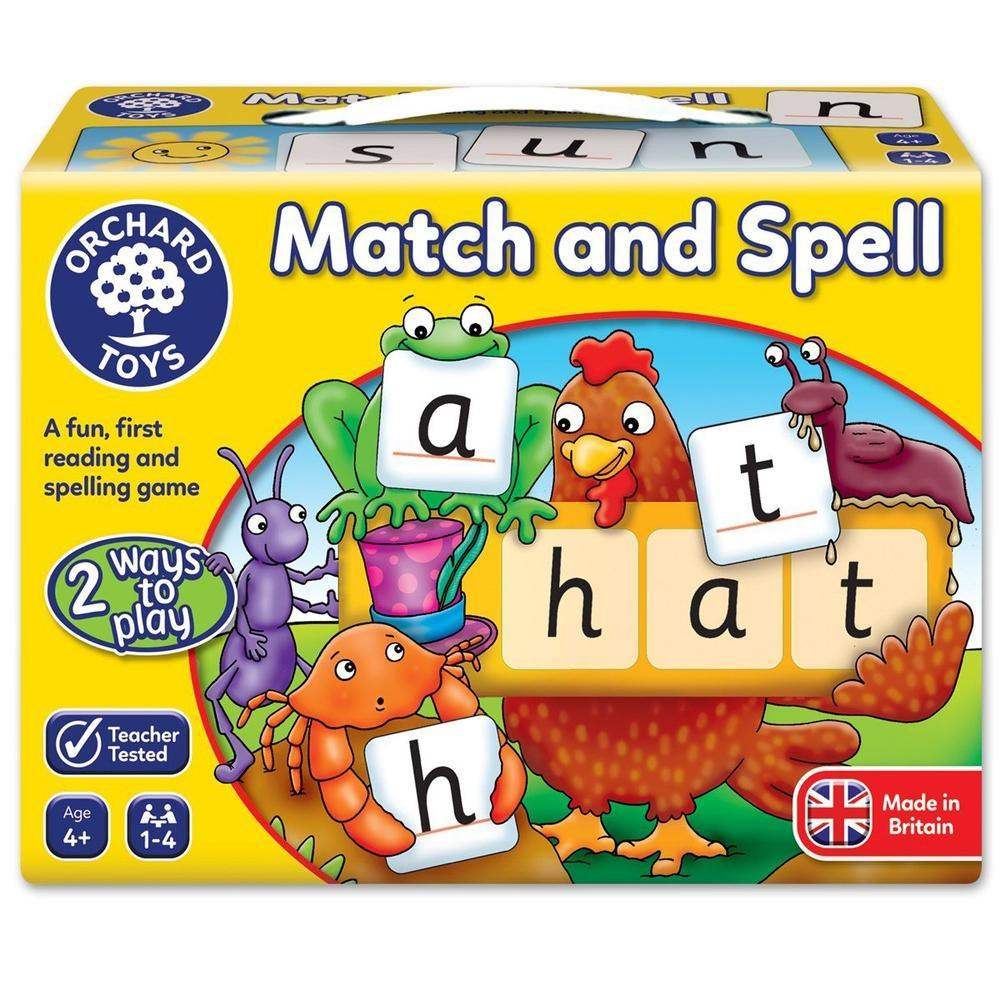 Orchard Game - Match And Spell-Games-The Creative Toy Shop