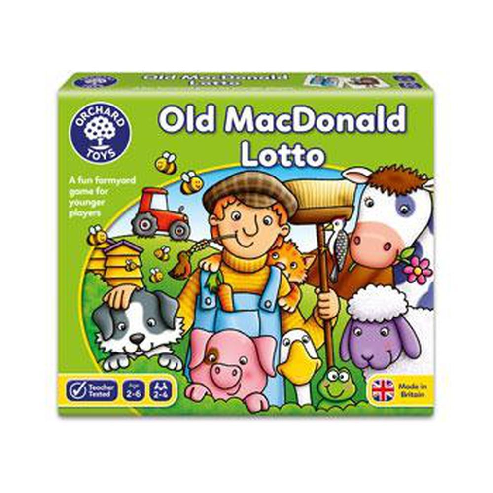 Orchard Game - Old Macdonald Lotto - Orchard Toys - The Creative Toy Shop