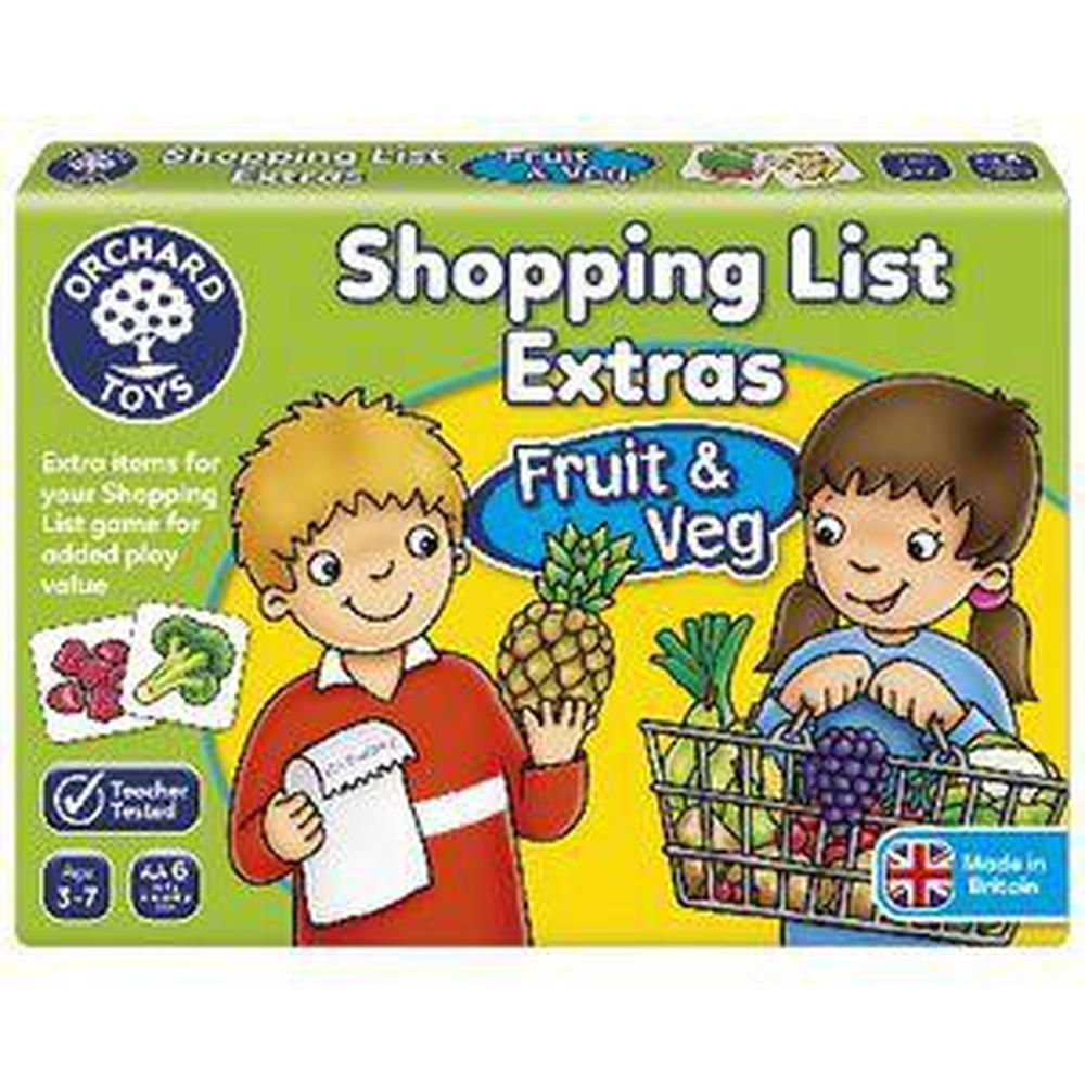 Orchard Game - Shopping List Game Booster Fruit and Veg - Orchard Toys - The Creative Toy Shop